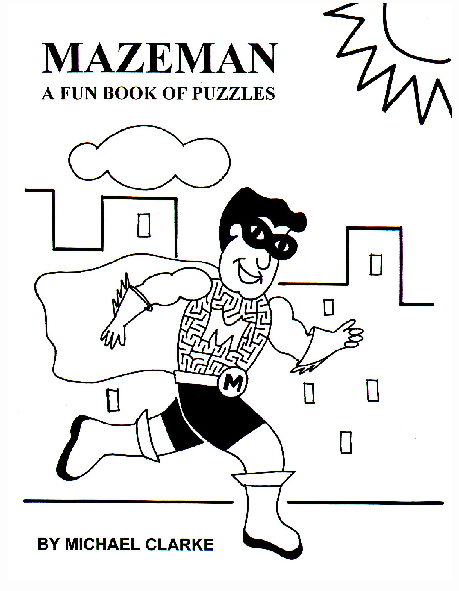Mazeman – A Fun Book Of Puzzles