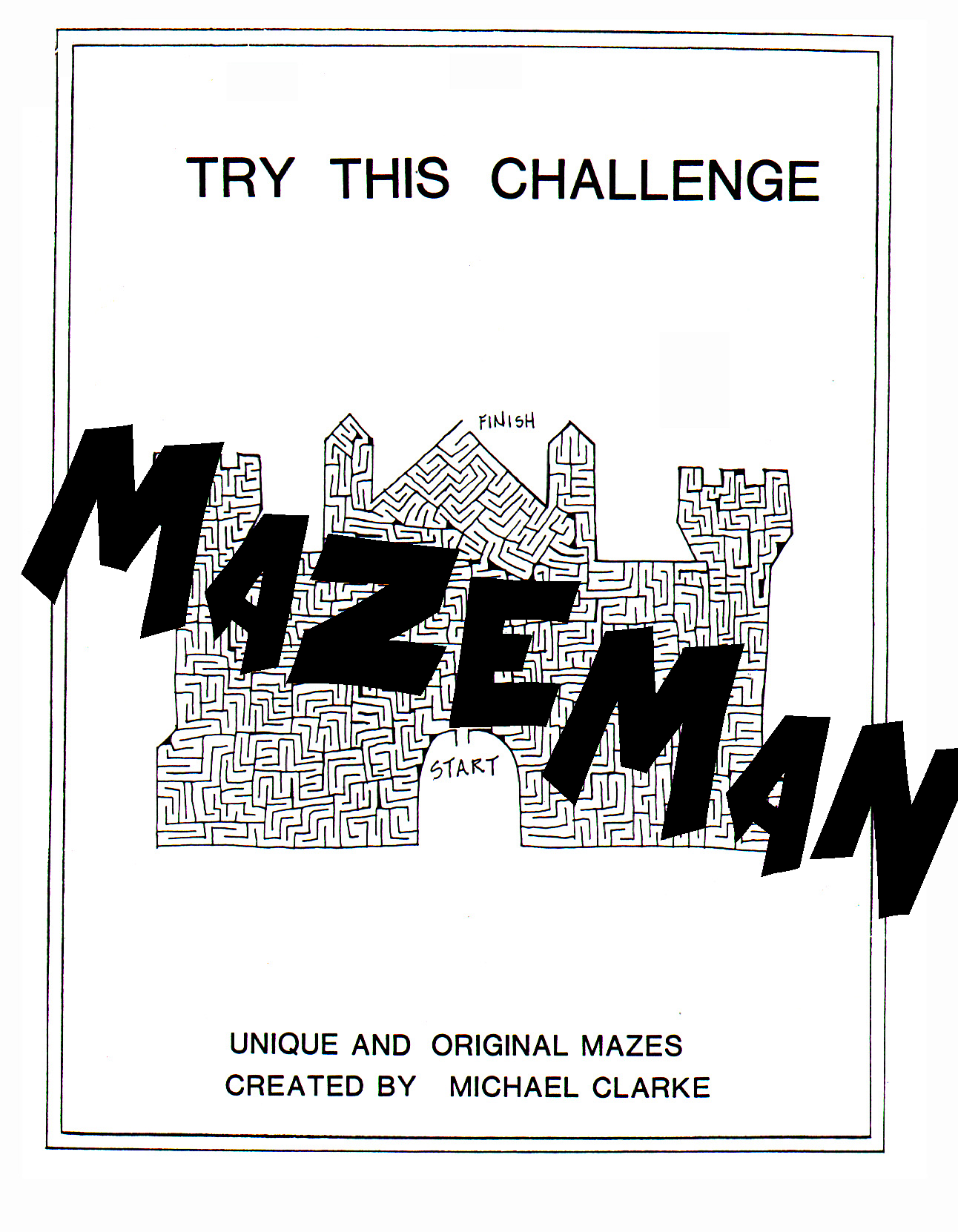 Try This Challenge Maze Book